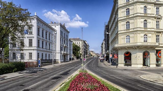 vienna austria citta urbano