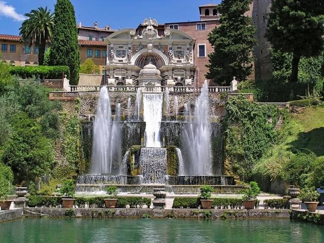 fontana villa d este tivoli 1