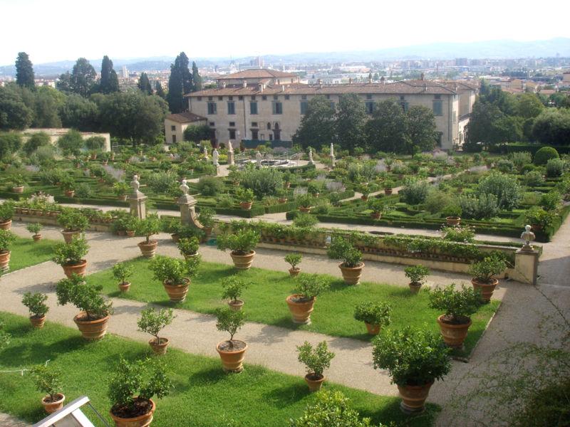 Giardini della Villa Medicea di Castello, Firenze