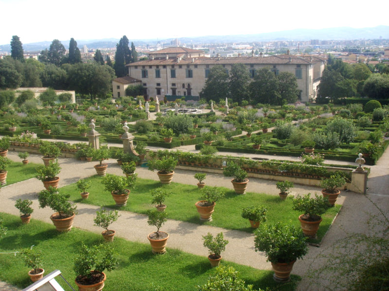 Vill E Giardini Medicei In Toscana
