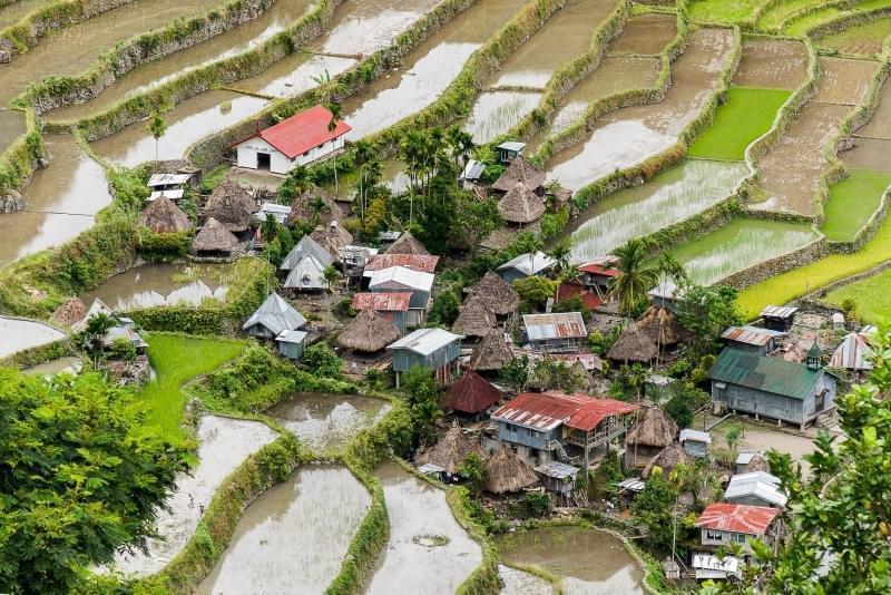 Villaggio nelle Filippine