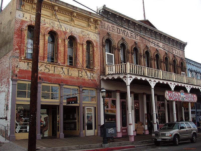Costruzione a Virginia City