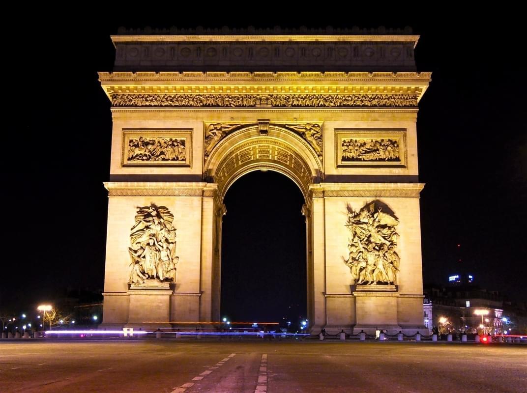 visitare l arco di trionfo di parigi