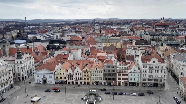 vista centro storico pilsen