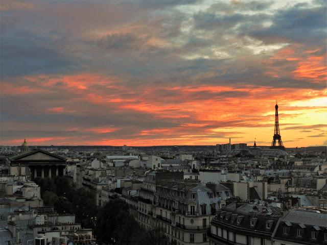 Vista panoramica parigi