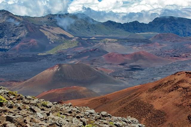vulcano aleakala maui hawaii