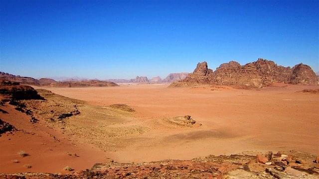 wadi rum deserto giordania sabbia rossa