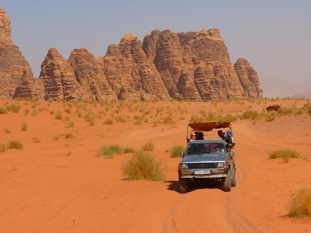 wadi rum negev deserto del negev jeep