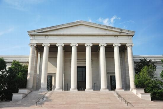 Esterno della National Gallery of Art di Washington