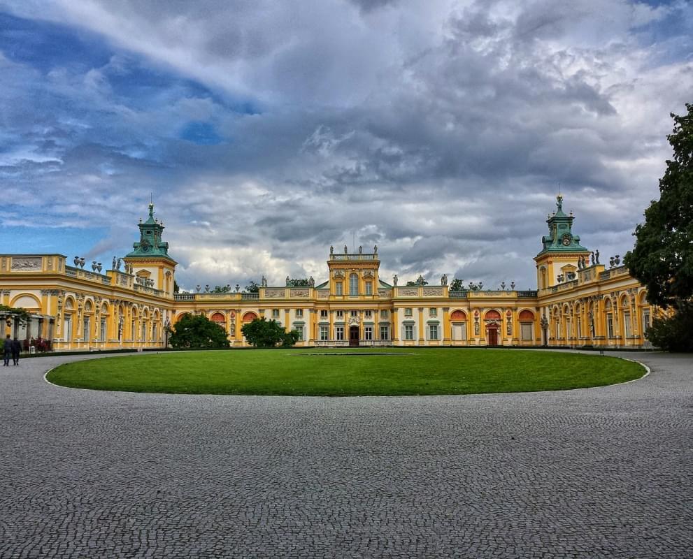 wilanaw il palazzo di varsavia