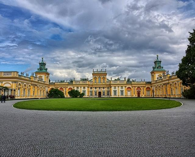 wilanow il palazzo varsavia 1