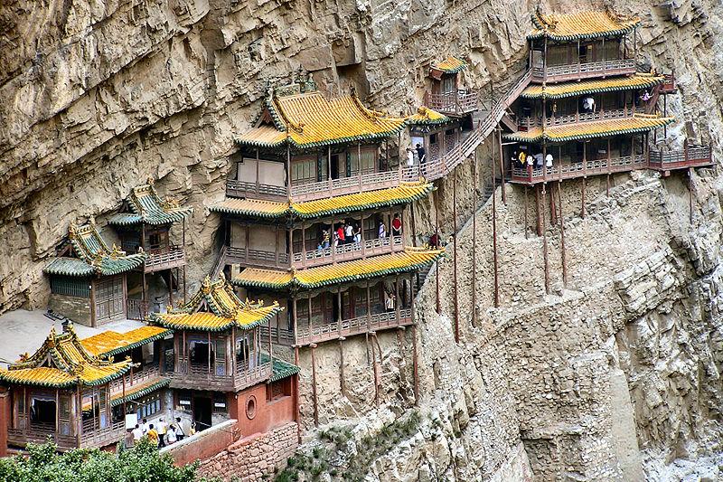 Xuánkōng Sì o monastero sospeso - Cina
