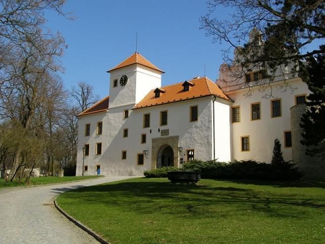 zamek blansko